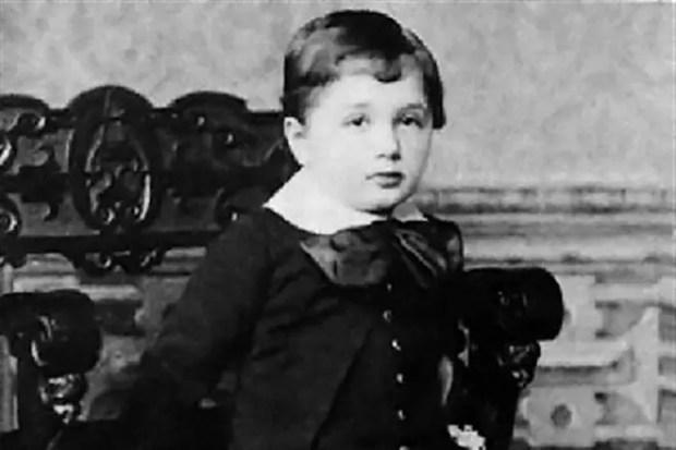 Альберт Эйнштейн в детстве