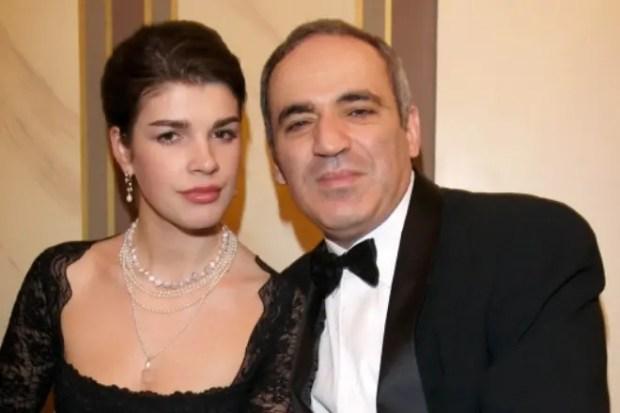 Гарри Каспаров с женой Дарьей