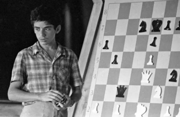 Гарри Каспаров в юности