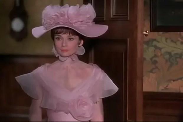 Одри Хепберн в мюзикле «Моя прекрасная леди»