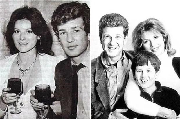 Игорь Костолевский с первой женой