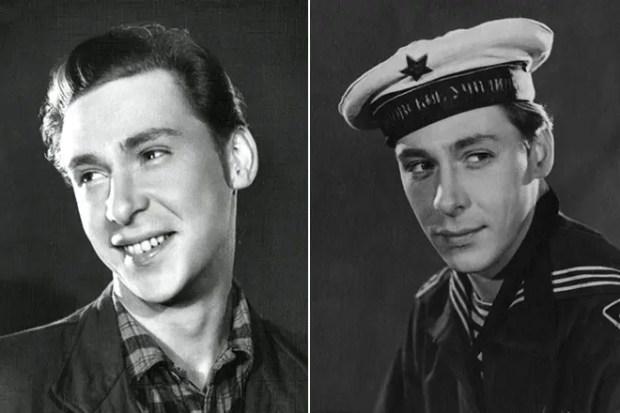 Олег Ефремов в молодости