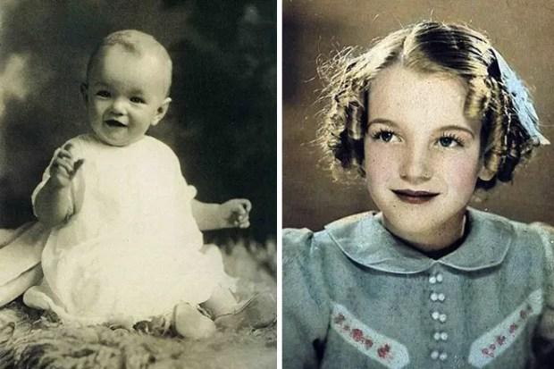Мэрилин Монро в детстве