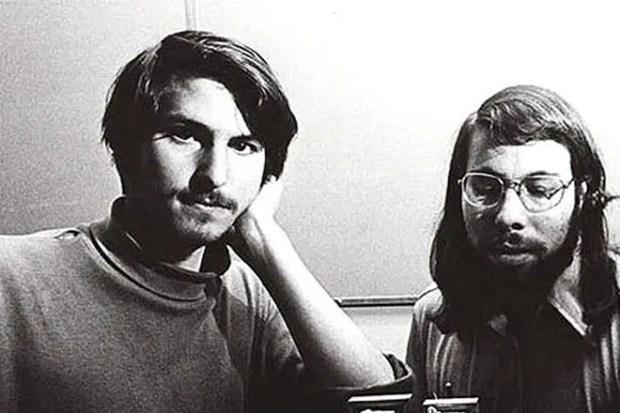 Стивен Джобс и Стив Возняк