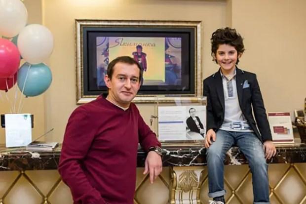 Константин Хабенский с сыном Иваном