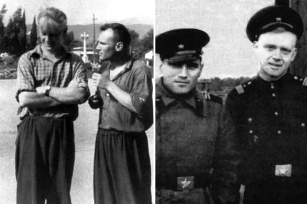 Юрий Визбор и Владимир Красновский