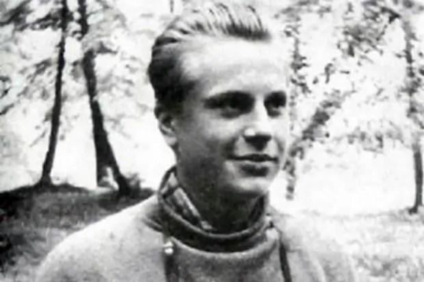 Юрий Богатырев в юности