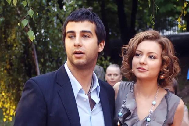 Иван Ургант и Татьяна Геворкян