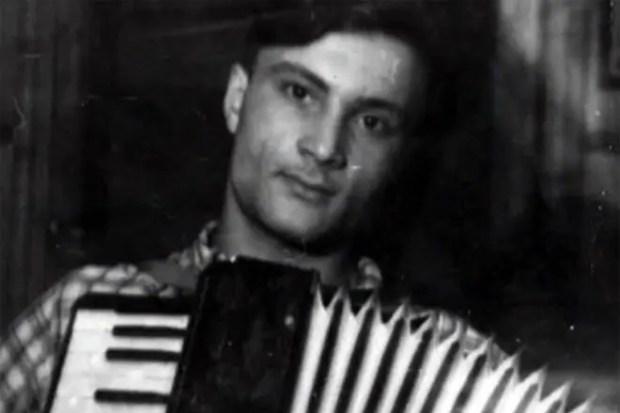Георгий Данелия в молодости