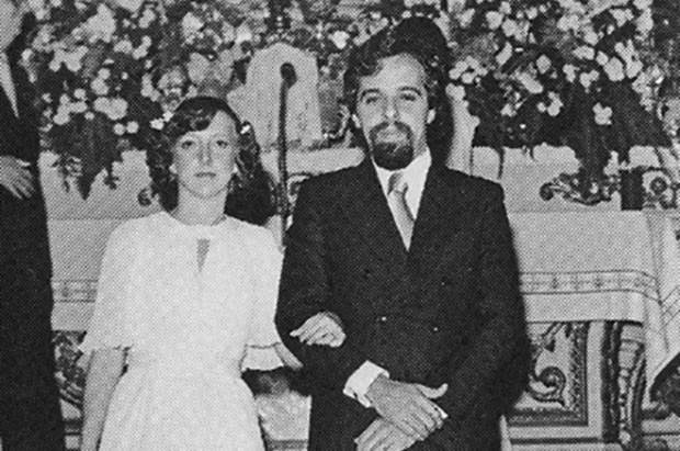 Пауло Коэльо и третья жена Сесил
