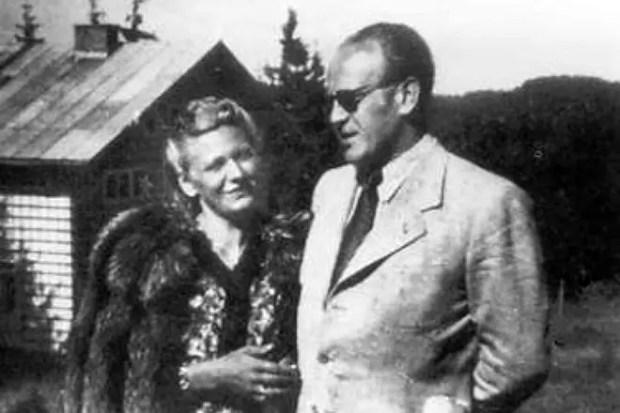 Оскар Шиндлер с женой