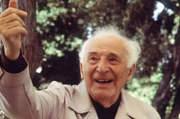 Марк Шагал в старости
