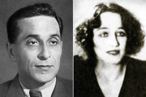 Михаил Зощенко и его жена Вера