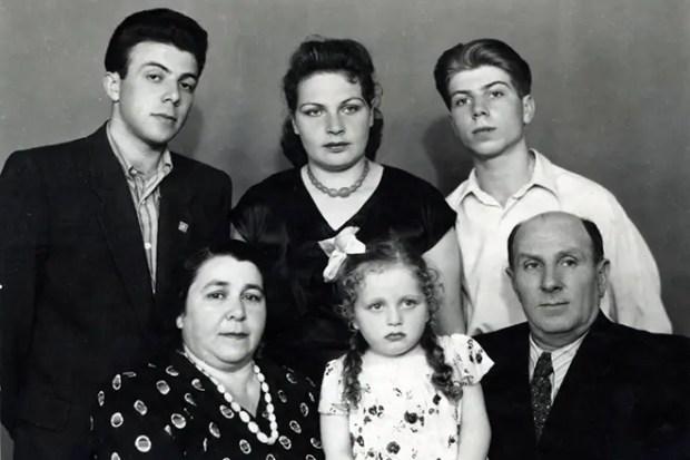 Семья Вадима Мулермана