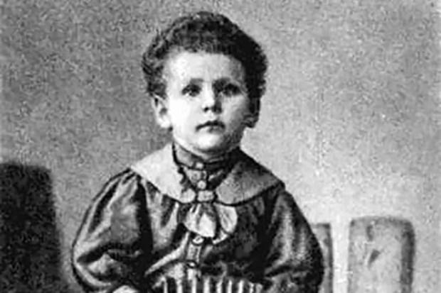 Евгений Шварц в детстве
