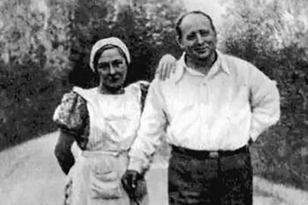 Евгений Шварц и Ольга Берггольц