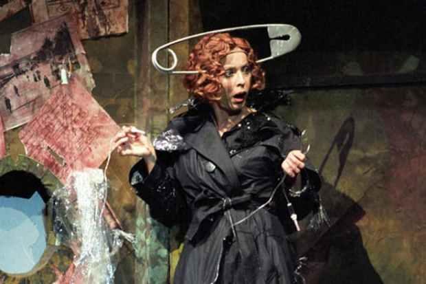 Анастасия Вертинская в спектакле «Имаго»