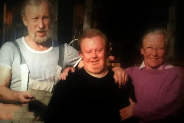 Ия Саввина с мужем и сыном