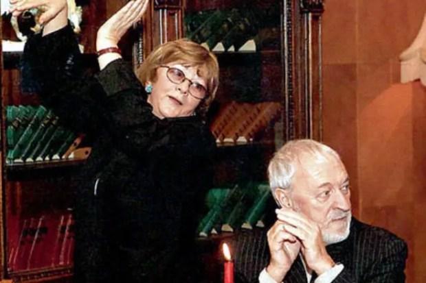 Алла Сурикова и Алик Поташников