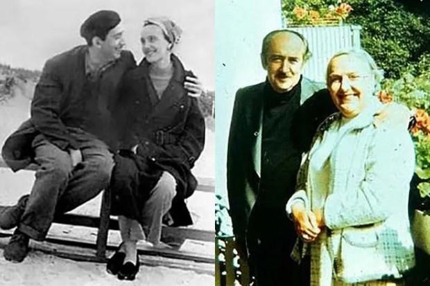 Александр Галич и его жена Ангелина