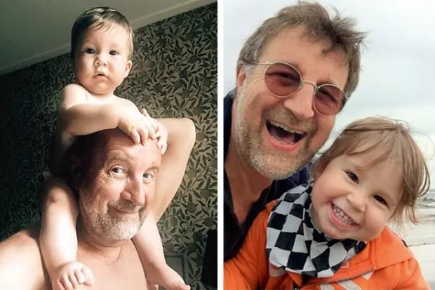 Леонид Ярмольник с внуком