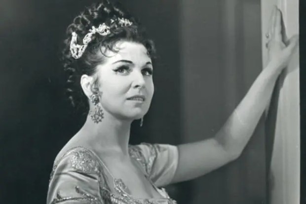 Галина Вишневская в молодости