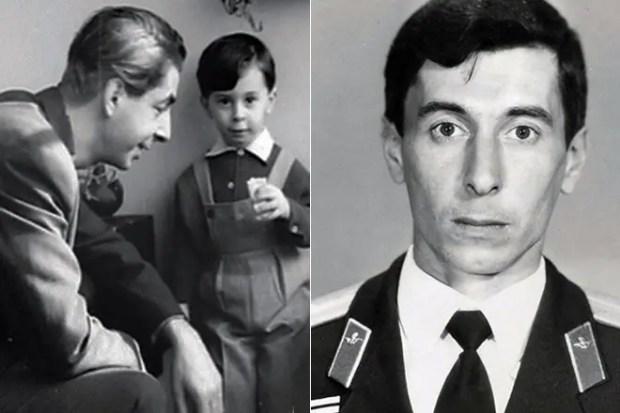 Микаэл Таривердиев и его сын Карен