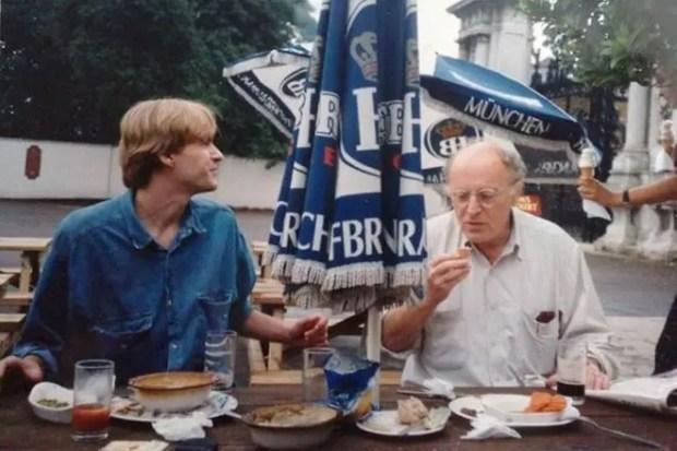 Иосиф Бродский в Лондоне, 1994 год