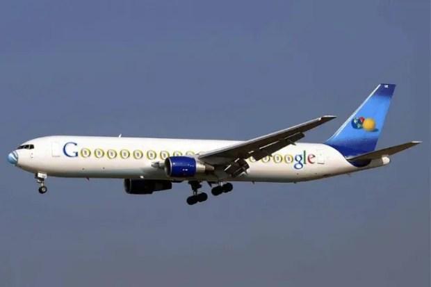 Самолет Сергея Брина и Ларри Пейджа Boeing 767-200 «Google Jet»