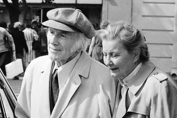 Игорь Ильинский и его жена Татьяна Еремеева