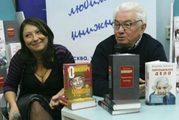 Владимир Войнович с дочерью Мариной