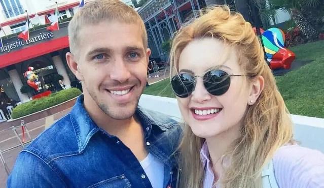 Юрий Газинский с женой