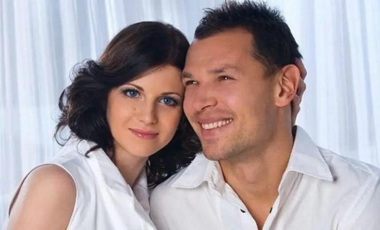 Сергей Игнашевич с женой
