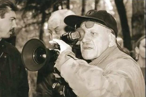Александр Митта на съемочной площадке