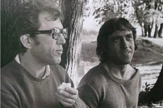 Александр Митта и Владимир Высоцкий