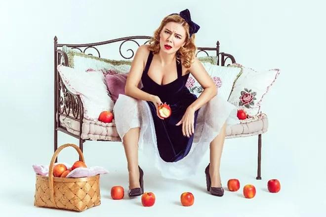 Stephanie-Mariaan Gursky促进素食主义