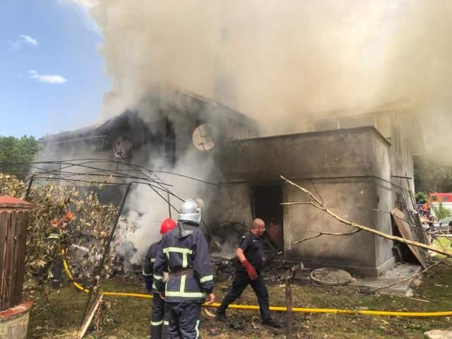 В Івано-Франківській області розбився літак