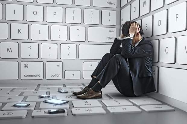 Часть пользователей страдают от интернет-зависимости