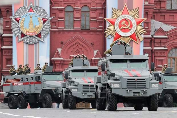 Парад 9 травня РФ 2019