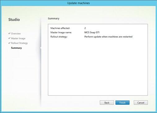 XenDesktop 7.5:  How to Update an MCS Virtual Desktop Image