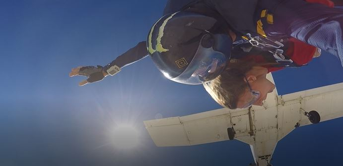 Skydiving in Las Vegas! Call me Crazy!