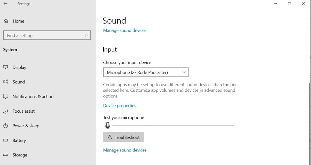 set default microphone windows 10