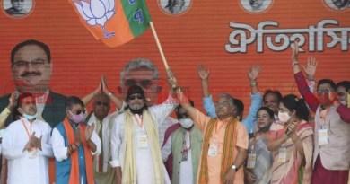 ভারতীয় জনতা পার্টিতে যোগ দিয়েই হুঙ্কার মিঠুন চক্রবর্তীর