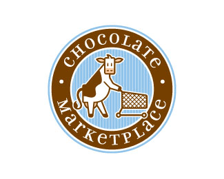 Chocolate Marketplace 25 logos con mucho chocolate