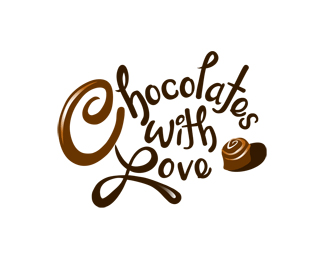 Chocolates With Love 25 logos con mucho chocolate