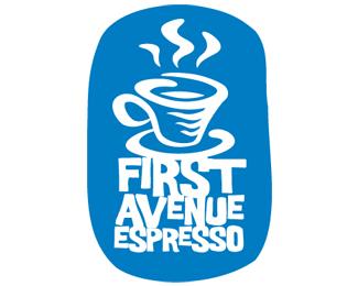 First Avenue Espresso 25 logos con mucho chocolate