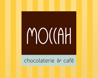 Moccah 25 logos con mucho chocolate