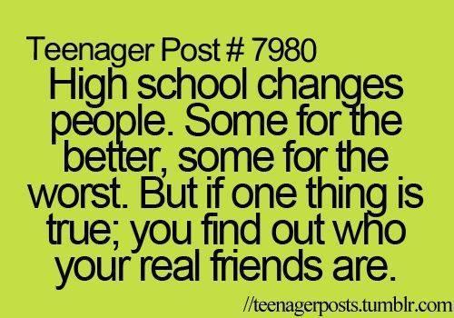 friendship quotes high school quote ift tt fjzhu