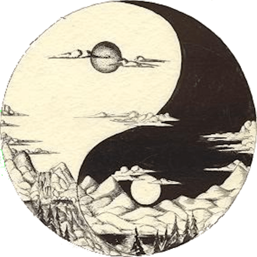 Ying Yang Night And Day