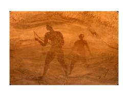 Arte rupestre, o grande arqueiro no Tassili N'Ajjer